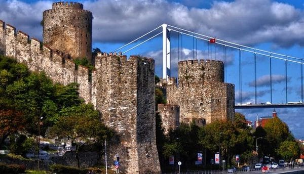 Most Beautiful Five Castles of Turkey