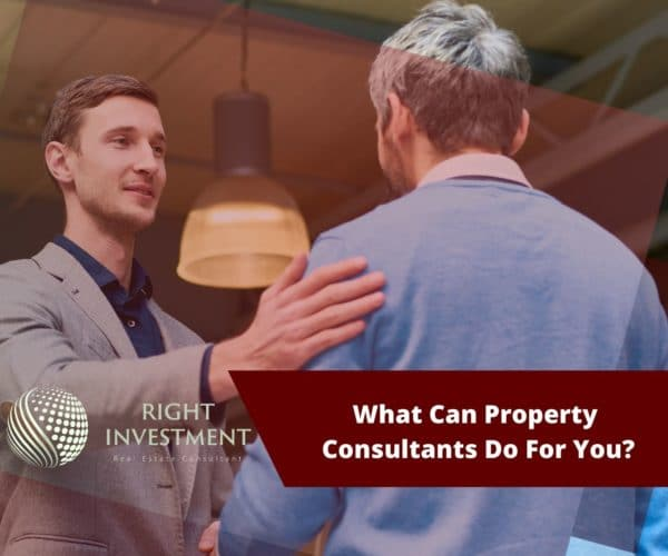 Why would it be preferable to deal with a real estate consultant when buying a property?